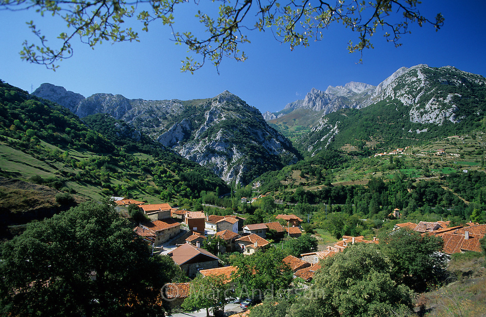 Lebeña, a rural village in the foothills of the Picos de Europa, Cantabria, Spain