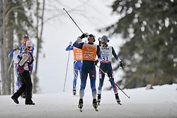 BURTON Kevin Guide: CHAMBERLAIN David, Biathlon at the 2014 Sochi Winter Paralympic Games, Russia