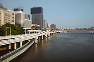 Brisbane capital city of Queensland Australia