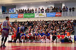 Bristol Flyers - Photo mandatory by-line: Dougie Allward/JMP - 01/04/2017 - BASKETBALL - SGS Wise Arena - Bristol, England - Bristol Flyers v Leeds Force - British Basketball League