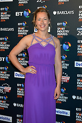 Pictured is Lizzy Yarnold.<br /> <br /> BT Sport Industry Awards 2014 at Battersea Evolution, London, UK.<br /> <br /> Thursday, 8th May 2014. Picture by Ben Stevens / i-Images