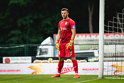 Ajdin Mulalic of Domzale  during football match between NŠ Mura and NK Domžale in 30th Round of Prva liga Telekom Slovenije 2019/20, on June 28, 2020 in Fazanerija, Murska Sobota, Slovenia. Photo by Blaž Weindorfer / Sportida