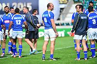 Julien BONNAIRE - 01.05.2015 - Captains' Run de Clermont avant la finale - European Rugby Champions Cup -Twickenham -Londres<br /> Photo : David Winter / Icon Sport