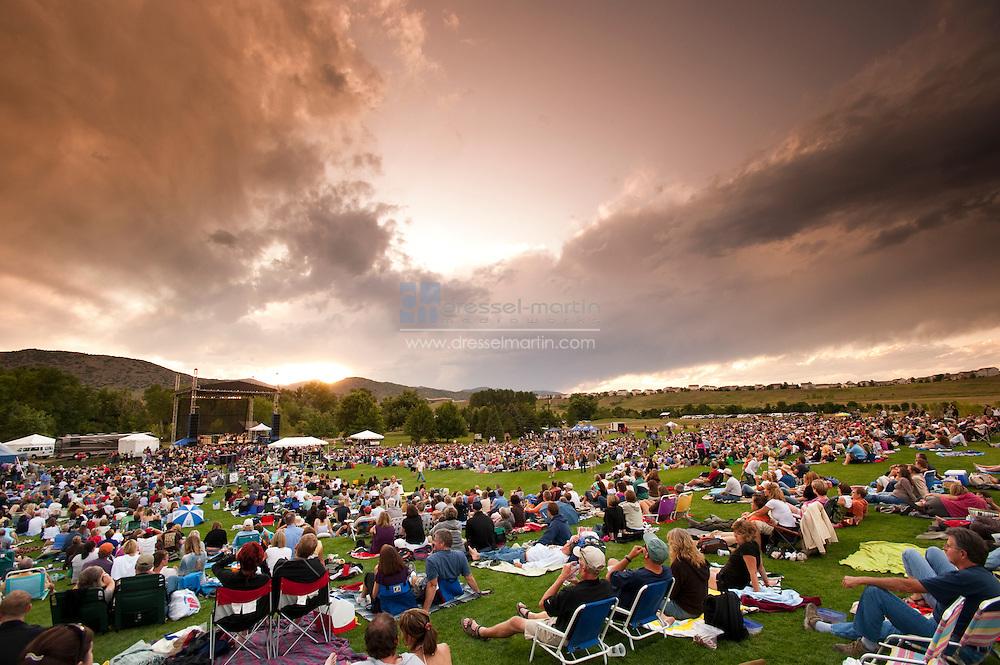 Denver Botanic Gardens at Chatfield  Chris Isaak Concert