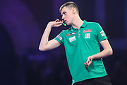 Ciaran Teehan during the PDC William Hill World Darts Championship at Alexandra Palace, London, United Kingdom on 15 December 2019.
