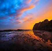 Sunset at Gerringong, NSW, Australia