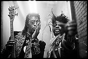Bootsy Collins and George Clinton, Los Angeles, USA, 1980s.