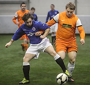Dundee Rangers (blue) v Sidlaw Albion - Dundee Saturday Morning FA Wintertoto 5 a sides at Soccerworld<br /> <br />  - &copy; David Young - www.davidyoungphoto.co.uk - email: davidyoungphoto@gmail.com