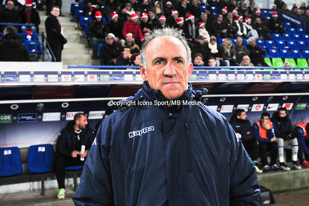 Ghislain Printant - 20.12.2014 - Caen / Bastia - 19eme journee de Ligue 1 <br /> Photo : Philippe Le Brech / Icon Sport