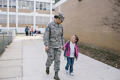 Military Children for Washington Post Magazine