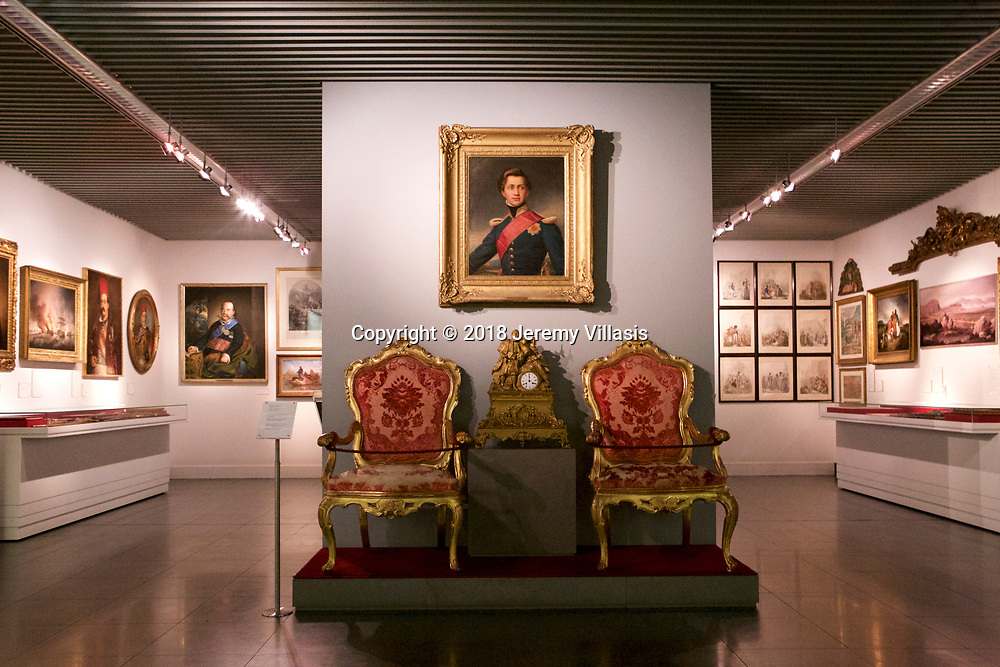 Gallery showcasing artefacts and works of art from the war of independence to the formation of the modern Greek state.
