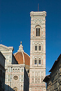 View of the Duomo and Campanille<br /> Florence, Tuscany, Italy