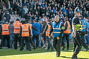 Pitch invasion following Bolton Wanderers' goal to make it 1-0 to the visitors during the EFL Sky Bet League 1 match between Port Vale and Bolton Wanderers at Vale Park, Burslem, England on 22 April 2017. Photo by Mark P Doherty.