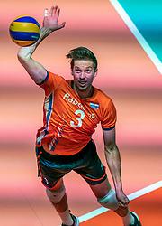 25-05-2019 NED: Golden League Netherlands - Croatia, Apeldoorn<br /> First match poule B: Dutch open Golden European League with 3-2 win over Croatia / Maarten van Garderen #3 of Netherlands