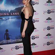 London, England, UK. 14th September 2017.Ella Jade attend the Landing Lake Film Premiere at Empire Haymarket,London, UK.