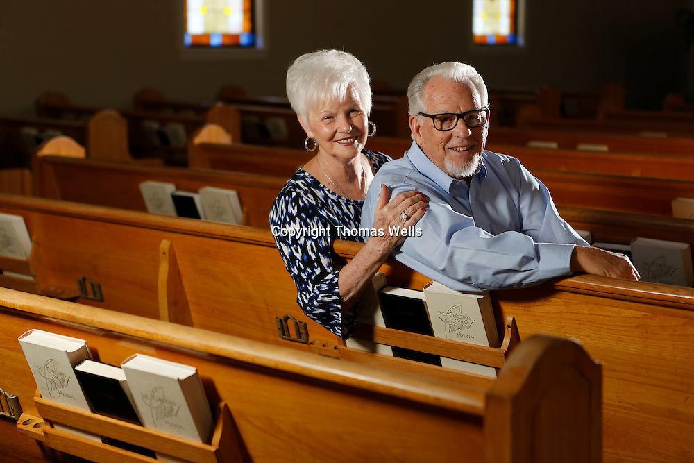 Thomas Wells | Buy at PHOTOS.DJOURNAL.COM<br /> Bissell Baptist Church Rev. Roger Smith and his wife, Eleanor,