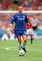 Mario Stanic - Chelsea. Chelsea v Manchester United. FA Charity Shield. Wembley 13/8/00. Credit: Colorsport.