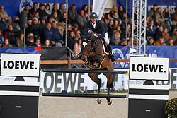 Bruynseels Niels, BEL, Cas de Liberte Kelshof Z<br /> CSI5* Grand Prix<br /> Jumping Antwerpen 2017<br /> © Hippo Foto - Dirk Caremans<br /> 22/04/2017
