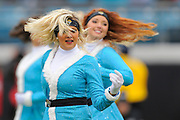 Jacksonville Jaguars cheerleader during the first half of the Jags game against the Washington Redskins at EverBank Field on Dec. 26, 2010 in Jacksonville, Fl. ©2010 Scott A. Miller