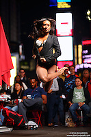 Dance As Art  New York City Photography Times Square Series with dancer, Taeler Cyrus