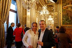 Schneider Dorothee, Krumhoff Jobst, GER<br /> LONGINES FEI World Cup™ Finals Paris 2018<br /> © Hippo Foto - Stefan Lafrentz<br /> 11/04/2018