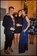 OE SCOTLAND; MARVIN GAYE CHETWYND; VALERIA NAPOLEONEFrieze dinner  hosted at by Valeria Napoleone for  Marvin Gaye Chetwynd, Anne Collier and Studio Voltaire 20th anniversary autumn programme. Kensington. London. 14 October 2014.