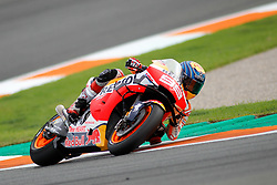 November 17, 2019, Cheste, VALENCIA, SPAIN: Jorge Lorenzo, rider of Repsol Honda Team from Spain, rides during the MotoGP Race of the Valencia Grand Prix of MotoGP World Championship celebrated at Circuit Ricardo Tormo on November 16, 2019, in Cheste, Spain. (Credit Image: © AFP7 via ZUMA Wire)