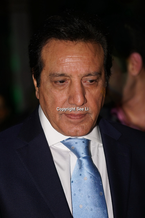 London,England,UK. 4th March 2017: Javed Sheikh is a Pakistani actor attends the India Pakistan London Fashion Show at Gilson Hall. by See Li