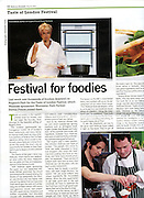 Waitrose Tearsheet Taste of London 2010