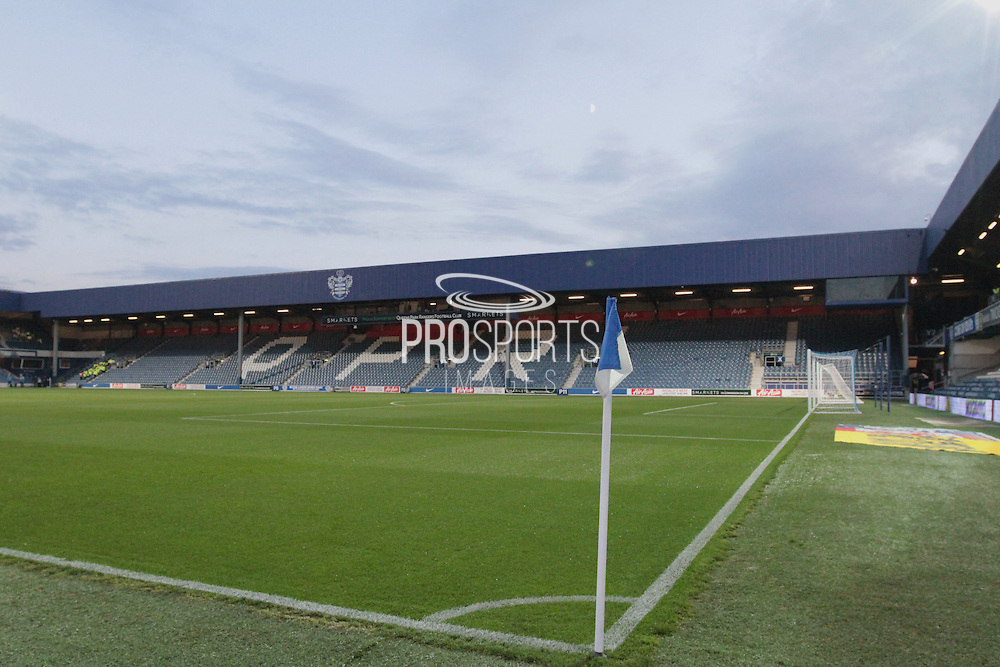 Lotus Road Stadium during the Sky Bet Championship match between Queens Park Rangers and Sheffield Wednesday at the Loftus Road Stadium, London, England on 20 October 2015. Photo by Jemma Phillips.