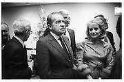 Richard Nixon with Barbara Walters, Jean Kirkpatrick birthday party, 1988© Copyright Photograph by Dafydd Jones 66 Stockwell Park Rd. London SW9 0DA Tel 020 7733 0108 www.dafjones.com