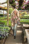 Alice Doyle, owner of Log House Plants in Cottage Grove, Oregon.