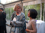 GRAYSON PERRY; ZIBA DE WECK; , Parasol unit Foundation for Contemporary Art celebrates the FoundationÕs 5th Anniversary. Wharf Rd. London.<br /> Dinner in  An exhibition of works by Darren Almond and Yang Fudong . 4 MAY 2010 *** Local Caption *** -DO NOT ARCHIVE-© Copyright Photograph by Dafydd Jones. 248 Clapham Rd. London SW9 0PZ. Tel 0207 820 0771. www.dafjones.com.<br /> GRAYSON PERRY; ZIBA DE WECK; , Parasol unit Foundation for Contemporary Art celebrates the Foundation's 5th Anniversary. Wharf Rd. London.<br /> Dinner in  An exhibition of works by Darren Almond and Yang Fudong . 4 MAY 2010