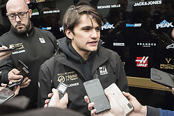 February 20, 2019 - Montmelo, Barcelona, Spain - Pietro Fittipaldi of Rich Energy Haas F1 Team in the Paddock area of the Circuit de Catalunya in Montmelo (Barcelona province) during the pre-season testing session. (Credit Image: © Jordi Boixareu/ZUMA Wire)