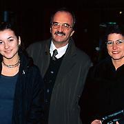 Premiere No Trains No Planes Rotterdam, vader en moeder en zus Birgit van Katja Schuurman