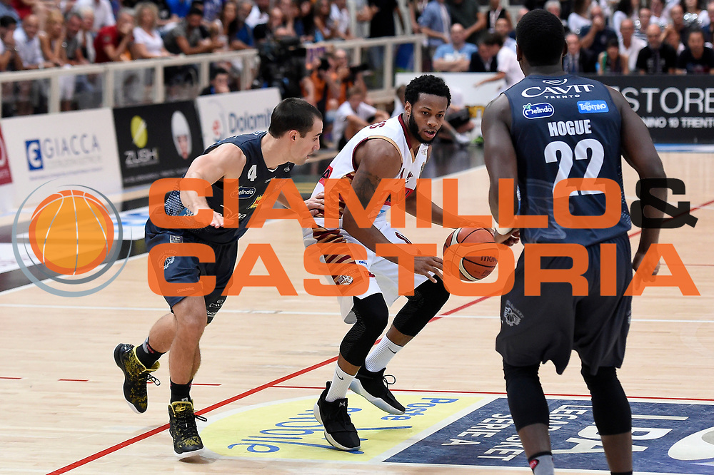 MarQuez Haynes<br /> Dolomiti Energia Aquila Basket Trento - Umana Reyer Venezia<br /> Lega Basket Serie A 2016/2017<br /> Playoff, finale gara 4<br /> Trento, 16/06/2017<br /> Foto M.Ceretti / Ciamillo-Castoria