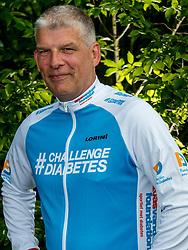 24-06-2017 NED: We Bike 2 Change Diabetes, Landgraaf<br /> Oefenweekend voor 15 deelnemers die in september de Tour de Mont Blanc gaan doen. Harold