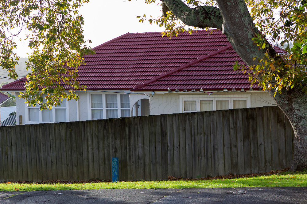 The scene where Blesilda Gotingco failed to arrive home from work,  Salisbury Road, Birkdale, Auckland, New Zealand, Monday, May 26, 2014.  Credit:SNPA / David Rowland