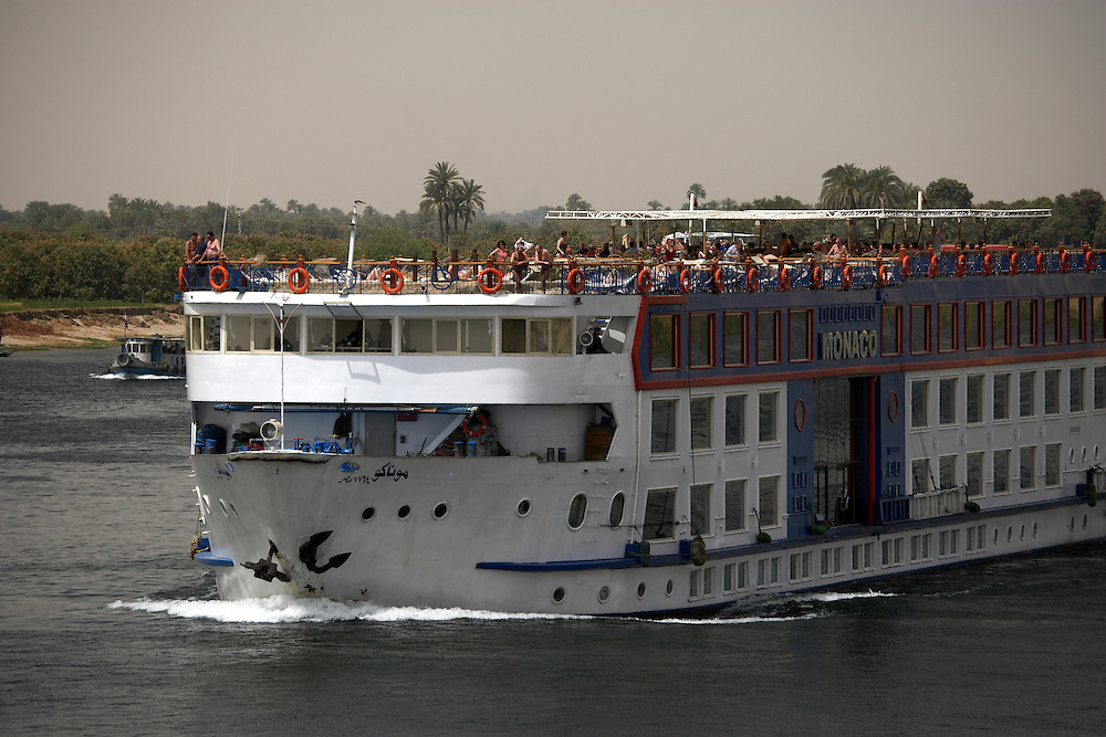 Cruise ship on Nile River, Egypt
