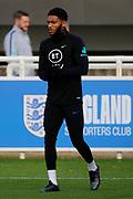 England defender Joe Gomez during the England football team training session at St George's Park National Football Centre, Burton-Upon-Trent, United Kingdom on 13 November 2019.