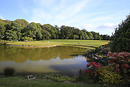 The 18th green at Fota Island Golf Course, Co.Cork, Ireland 25th May 2013.<br /> Picture: Eoin Clarke www.golffile.ie