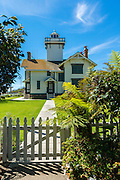 San Pedro CA; Point Fermin, lighthouse, Historic Site and Museum,