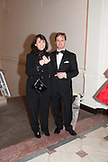 IAN PALMER; MONIQUE PALMER, Royal Academy Schools Annual dinner and Auction 2012. Royal Academy. Burlington Gdns. London. 20 March 2012.