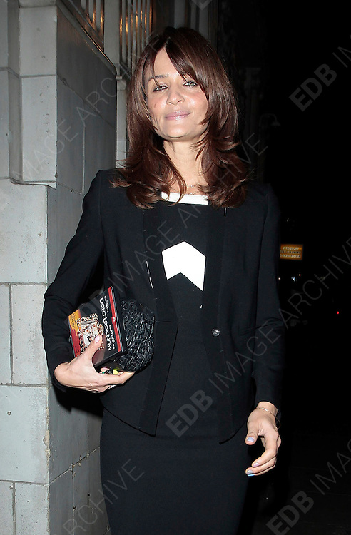 15.NOVEMBER.2010 LONDON<br /> <br /> HELENA CHRISTENSEN LEAVING THE WEST LONDON HOTEL PREMIER OF AWAY WE ARE.<br /> <br /> BYLINE: EDBIMAGEARCHIVE.COM<br /> <br /> *THIS IMAGE IS STRICTLY FOR UK NEWSPAPERS AND MAGAZINES ONLY*<br /> *FOR WORLD WIDE SALES PLEASE AND WEB USE PLEASE CONTACT EDBIMAGEARCHIVE - 0208 954 5968*