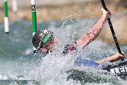 Mario LEITNER of Austria during the Kayak Single (MK1) Mens Semi Final race of 2019 ICF Canoe Slalom World Cup 4, on June 30, 2019 in Tacen, Ljubljana, Slovenia. Photo by Sasa Pahic Szabo / Sportida