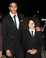 LONDON - DECEMBER 06: Ashley Banjo; Perri Luc Kiely; Diversity attended 'A Night of Heroes: The Sun Military Awards' at the Imperial War Museum, London, UK. December 06, 2012. (Photo by Richard Goldschmidt)