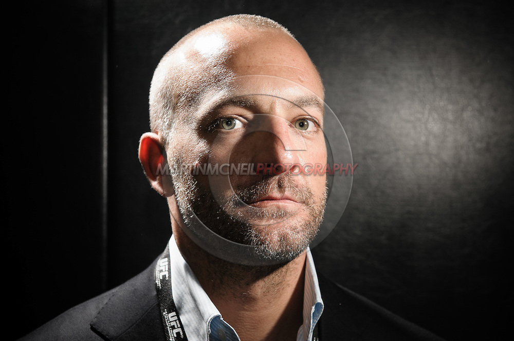 A portrait of UFC CEO Lorenzo Fertitta