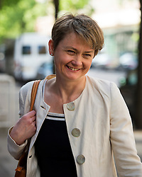© Licensed to London News Pictures. 06/06/2015. London, UK.  YVETTE COPPER  arriving at the venue. Current Labour Leadership candidates attend a debate at the Fabien Society Conference, held at the institute of Education in London. Photo credit: Ben Cawthra/LNP