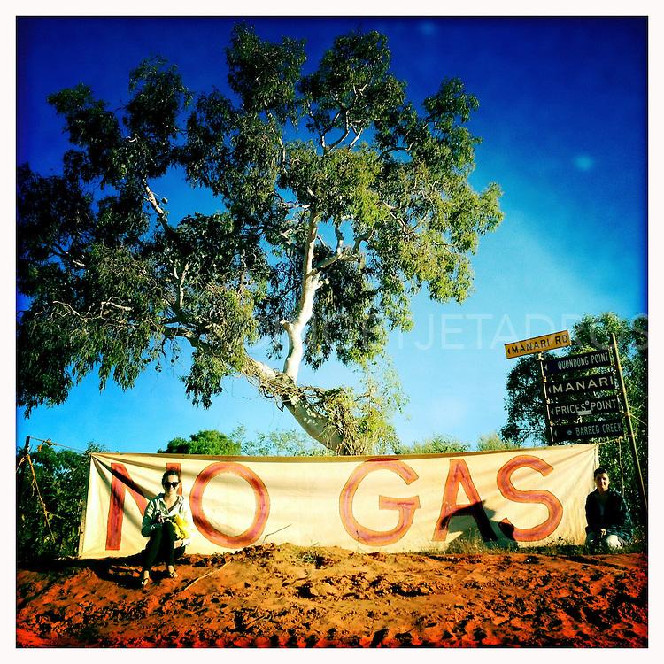 Female protesters in Western Australia