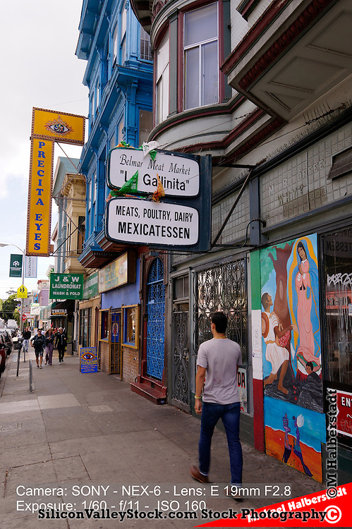 San Francisco's Colorful Mission Neighborhood